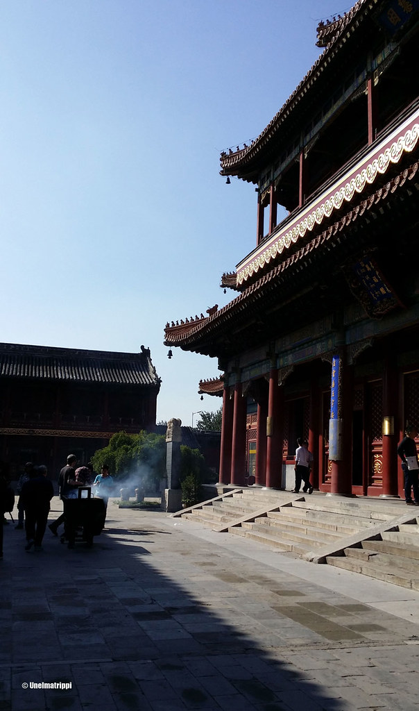 Lama-temppelillä Pekingissä