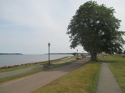 Hazy to the west #pei #charlottetown #charlottetownharbour #victoriapark #latergram