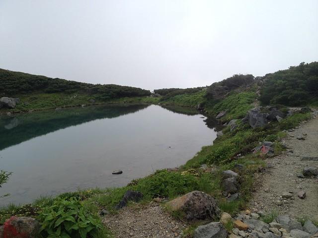 白山 血の池