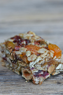 Seed & Nut Energy Bar cut | by jess.t