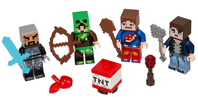 LEGO Minecraft 853609 Skin Pack characters