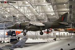 XZ133 10 - 712192 - Royal Air Force - Hawker Siddeley Harrier GR3 - 080704 - Duxford - Steven Gray - IMG_2771