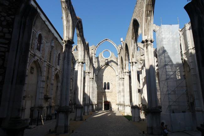 Lisbona - Convento do Carmo