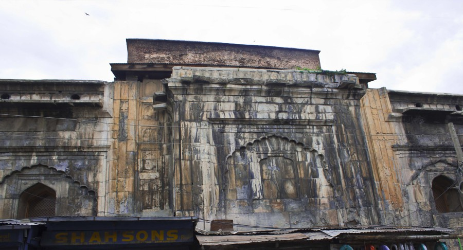 Pathar Masjid in Srinagar, Jammu & Kashmir, India