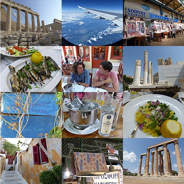 Mosaïque Athènes