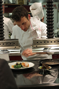 chef at Alain Ducasse | by David Lebovitz