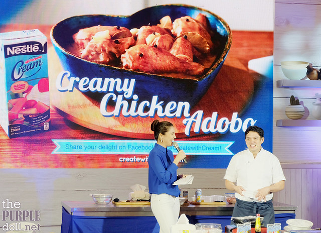 Creamy Chicken Adobo Demo by Chef Rob Pengson