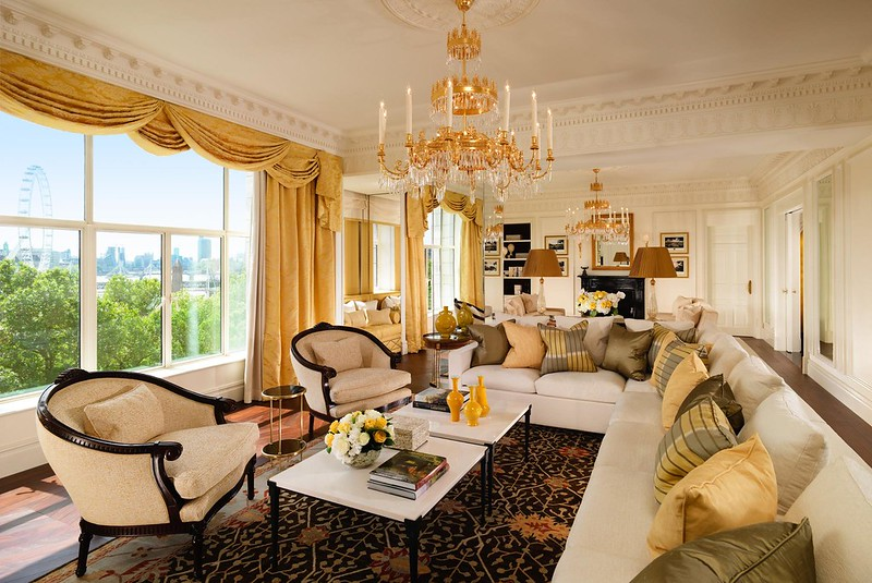 Royal Suite at The Savoy