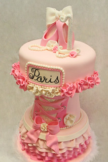 Paris Ballerina 2 | by Whimsy Cakes