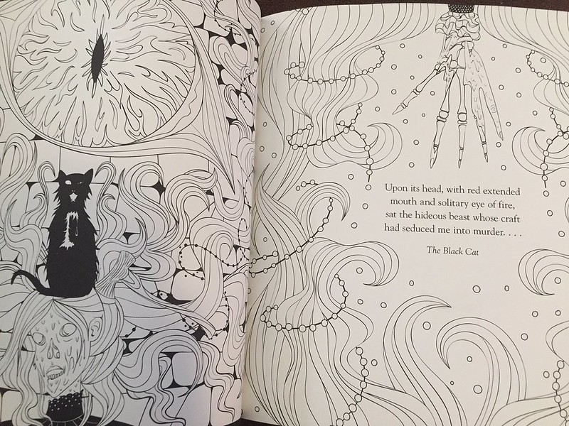 Edgar Allan Poe Coloring Book
