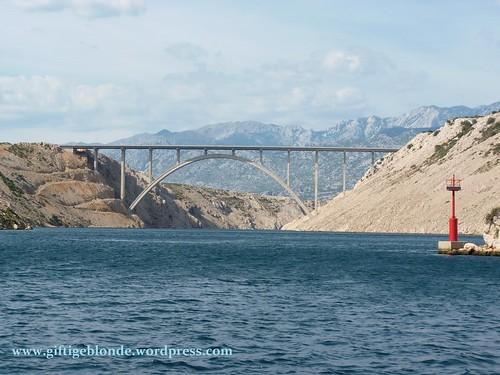 die zweite Brücke bei Maslenica