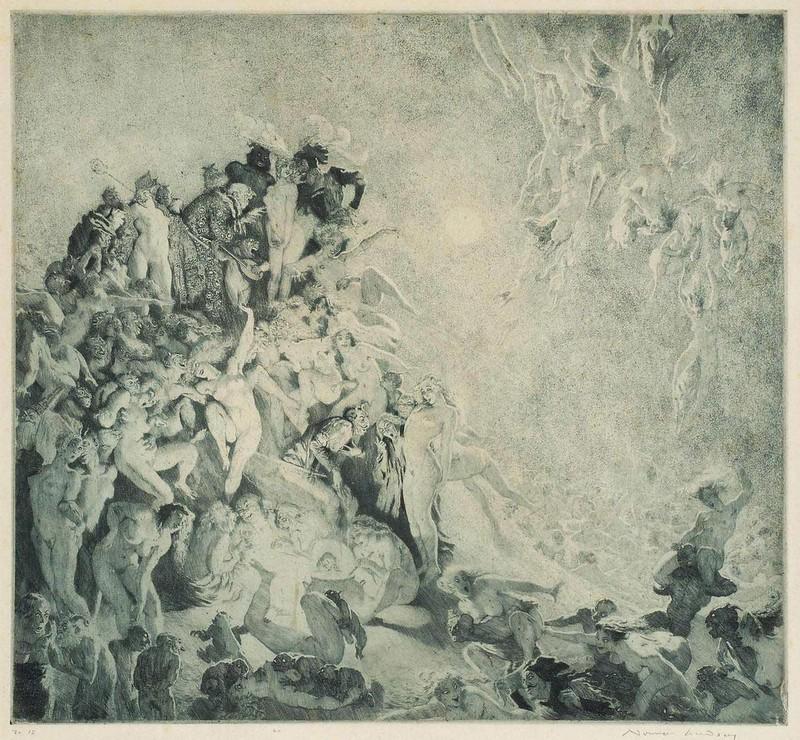 Norman Lindsay - Walpurgis, 1924
