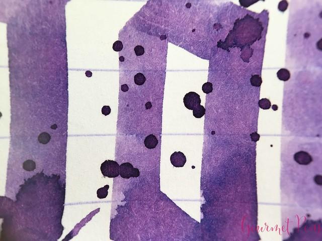 Ink Shot Review Graf Von Faber-Castell Violet Blue @AppelboomLaren 9