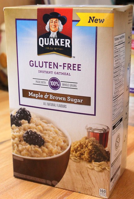 Quaker Gluten-Free Oats, Oatmeal & My Peanut Butter Chocolate Icebox Cookies