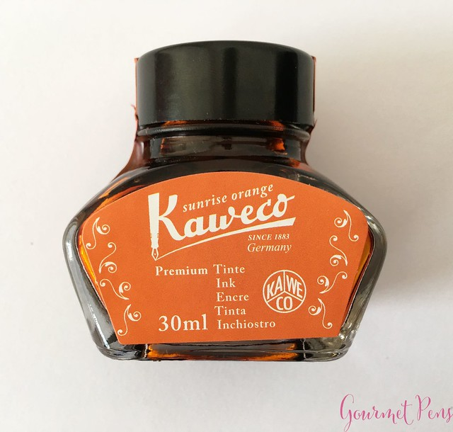 Ink Shot Review Kaweco Sunrise Orange @Kaweco_Germany 1