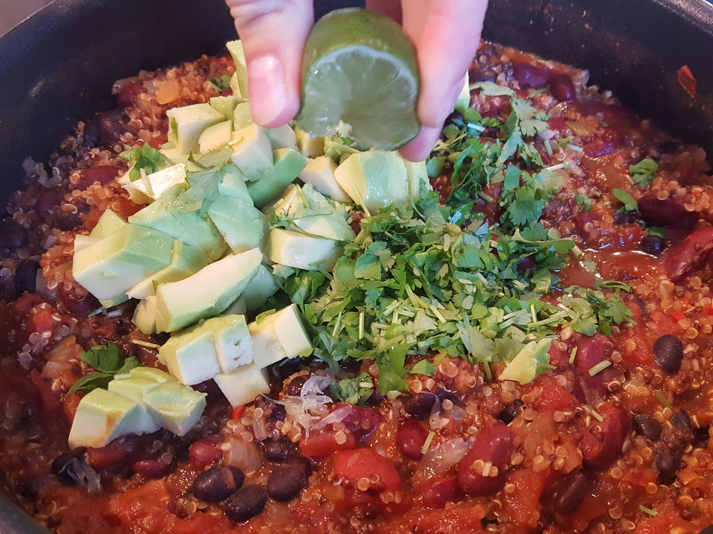 Recipe for homemade one pan Mexican quinoa
