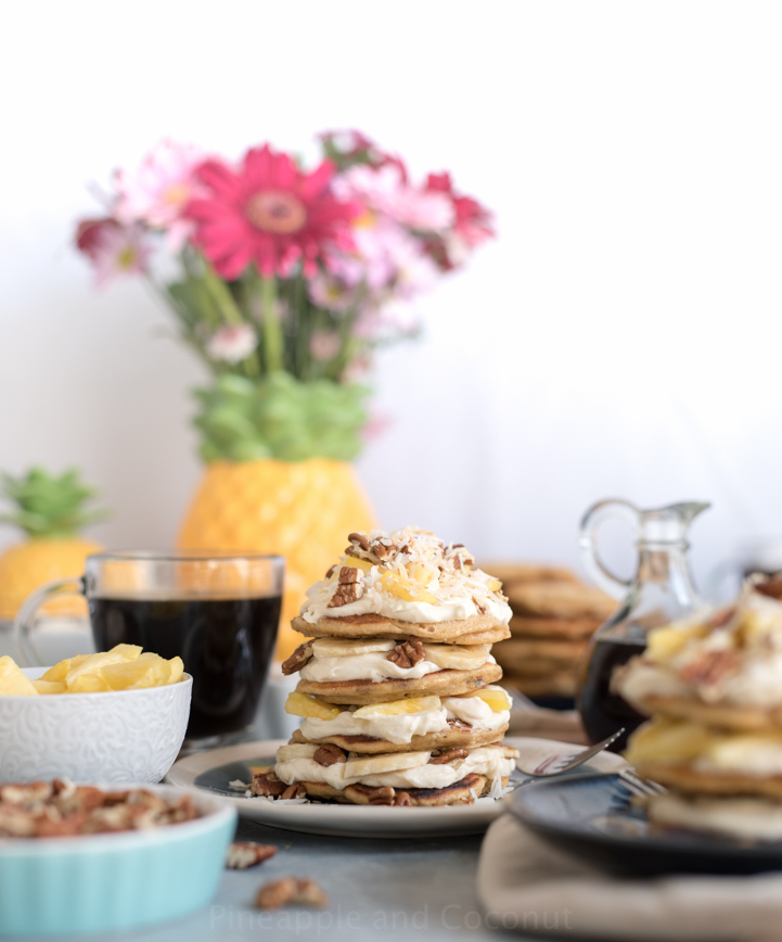 Hummingbird Pancakes www.pineappleandcoconut.com #worldmarkettribe #ad