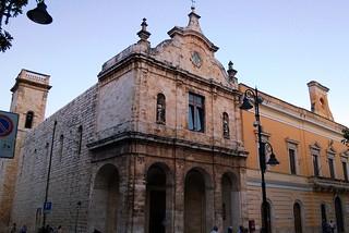 Noicattaro. Chiesa del Carmine front