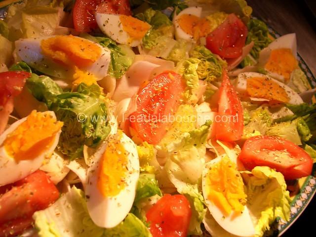 Salade Mêlée au Thon © Ana Luthi Tous droits réservés 002