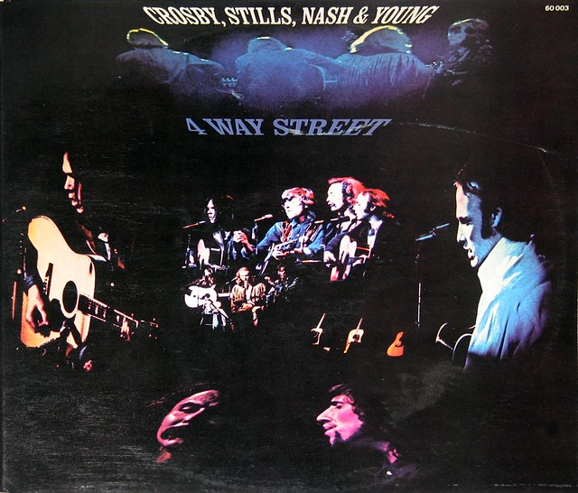Crosby Stills Nash & Young 4 Way Street 2LP