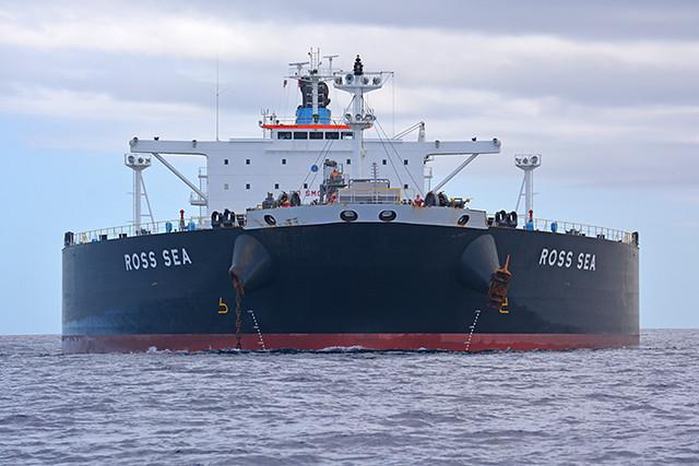 Ross Sea bow