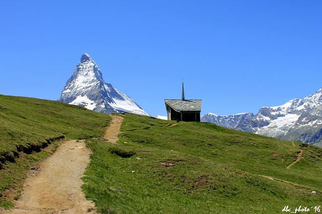 Otra ruta hacia el Matterhorn