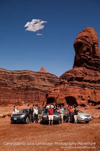 Canyonlands 2012 Landscape Photography Adventure - Group Shot | by nubui