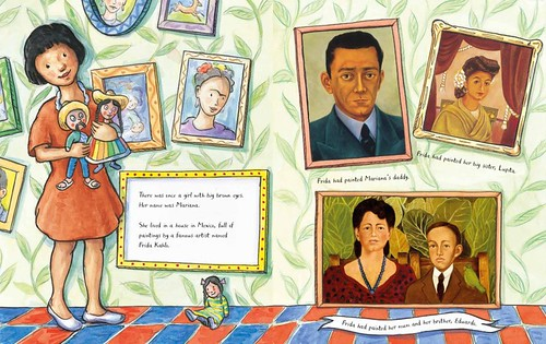 Laurence Anholt, Frida Kahlo and the Bravest Girl in the World