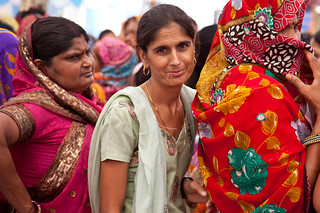 A local woman attends the gram sabha, or village assembly meeting, in Barrod village of Rajasthan's Alwar district on 5 October 2012 | by UN Women Gallery