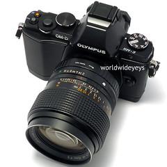 オリンパスOM-D E-M5, コニカ ヘキサノンAR 35mm F2