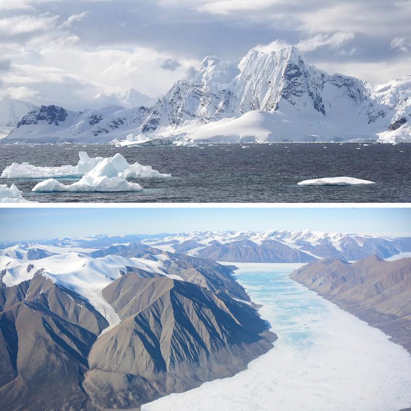 Kokemuksia Etelämantereelta -vuoret