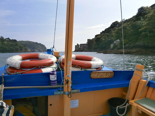 1 Mouth of River Dart from the Dartmouth Castle ferry, Devon 09-16