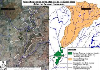 Parque regional en torno a los ejes de los cursos bajos de los ríos Jarama y Manzanares