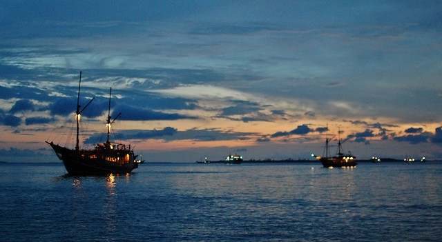Liveaboards in Sorong harbour