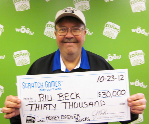 Bill Beck - $30,000 Honey Badger Bucks | by Idaho Lottery