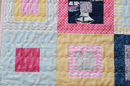 Baby Out to Sea Quilt | by Fresh Lemons : Faith