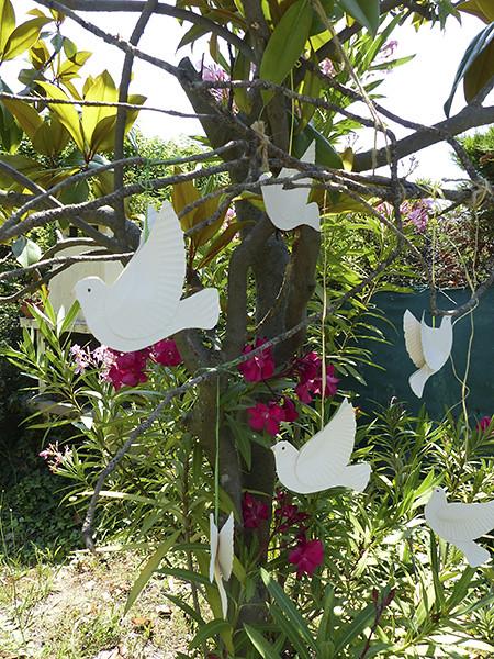 les colombes de la Paix