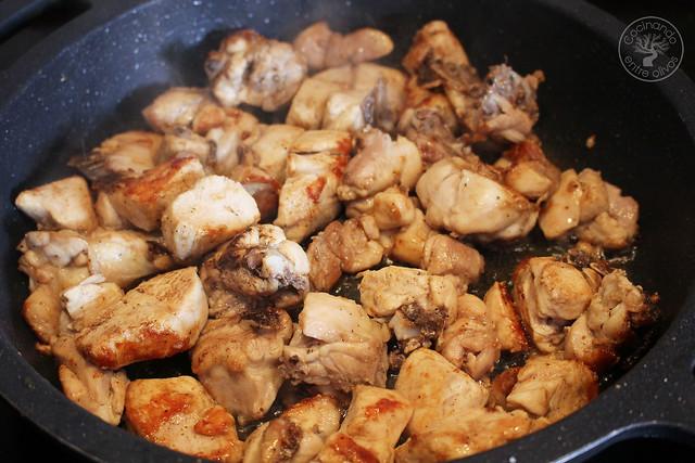 Pollo a la Secretaria, Pollo a la Alcalaina www.cocinandoentreolivos.com (8)