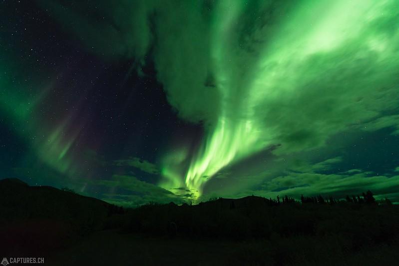 Northern lights 2 - Tombstone Territorial Park