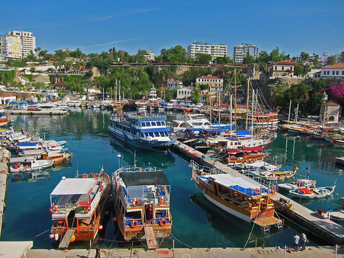 The colorful Roman Harbor - Antalya, Turkey  Kirk K  Flickr