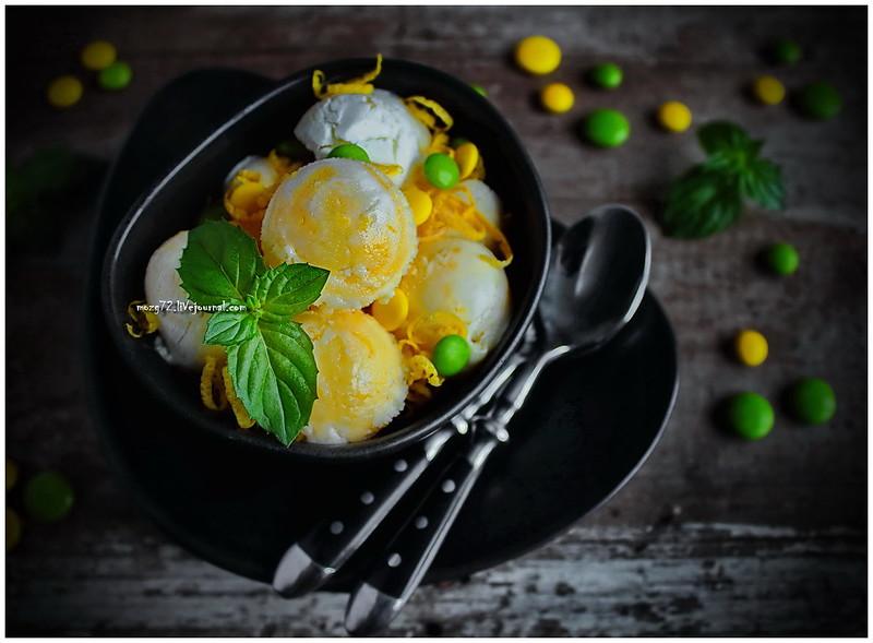 ...lemon cream ice