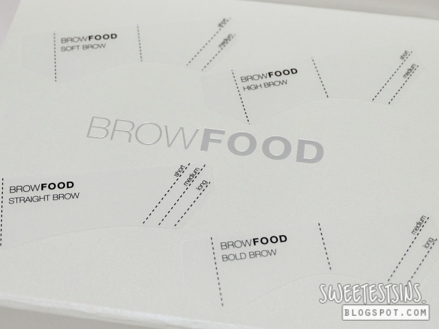 browfood brow transformation system brow arch guide