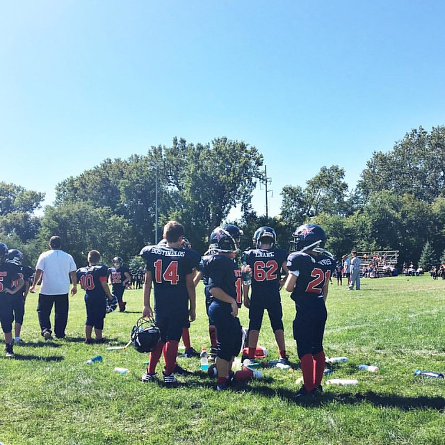 Football 🏈 Saturday #owenchristopher #starsyouthfootball #northstars