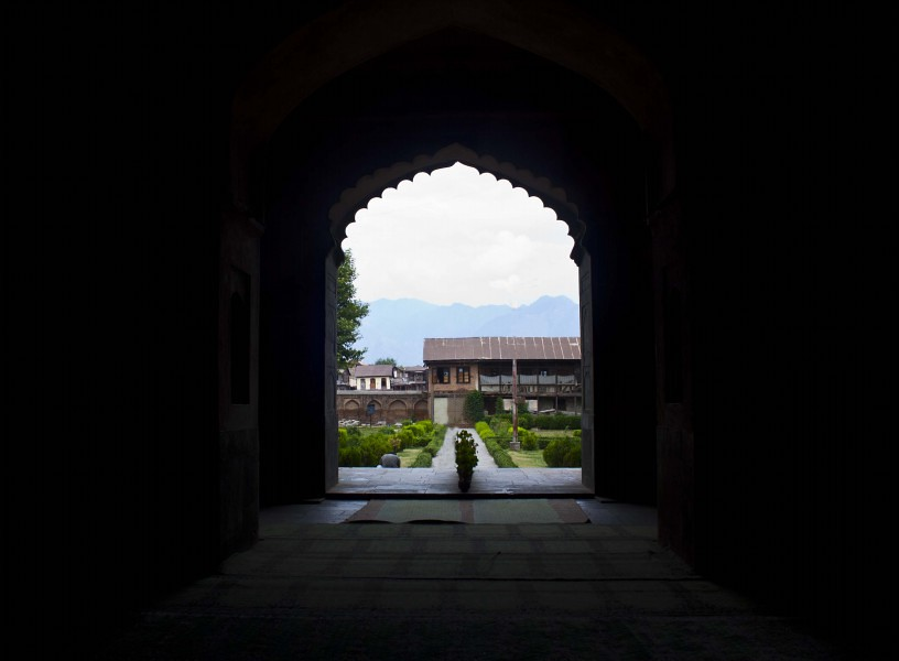 Pathar Masjid in Srinagar, Jammu & Kashmir, India
