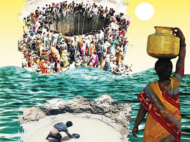 पारम्परिक जलस्रोतों की अनदेखी ने बढ़ाया जल संकट