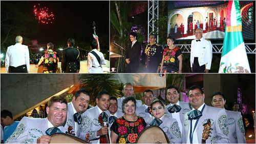 La Independencia de México se celebró también en Brasil