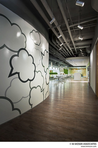 Working Creativity Into Space Design By M Moser Associates Flickr