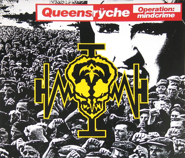 "Queensryche Operation Mindcrime DMM 12"" vinyl LP album"
