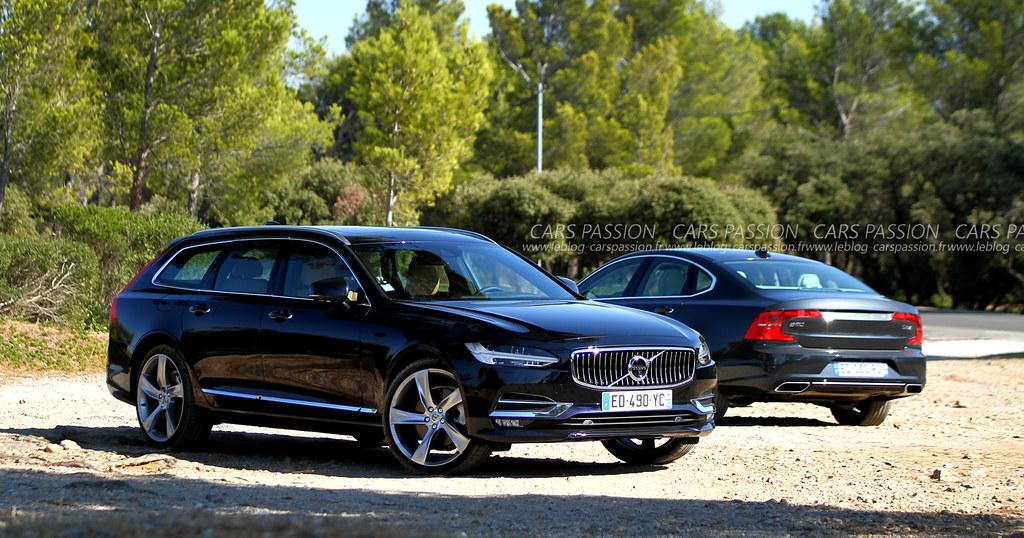 Essai Volvo S90 et V90 par Mathieu
