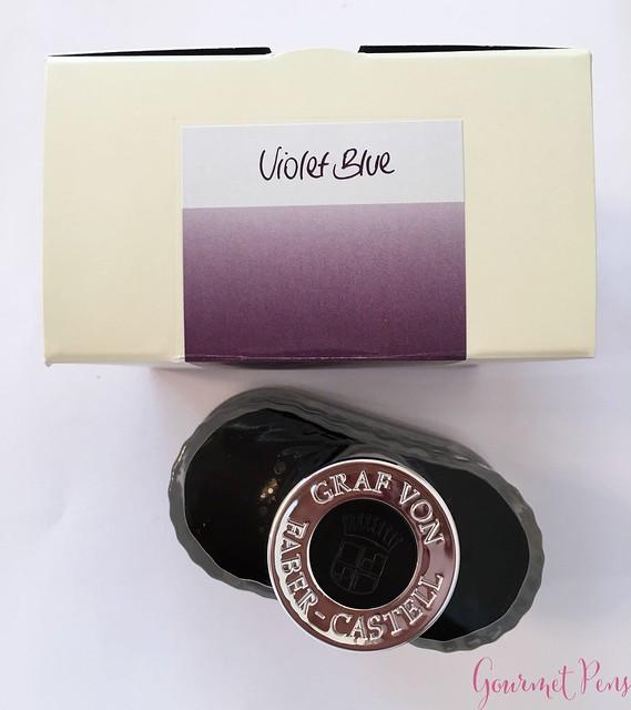 Ink Shot Review Graf Von Faber-Castell Violet Blue @AppelboomLaren 1
